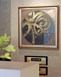 泰山義昭さんの「梅の陶板」 - うつわと暮らしの「からくさ日記」