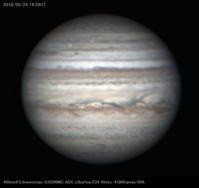 2018年5月24日の木星 - 亜熱帯天文台ブログ