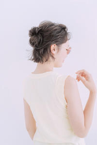 ボブヘアのアレンジスタイル。。。☆ - COTTON STYLE CAFE 浦和の美容室コットンブログ