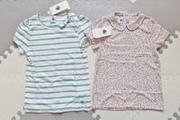 プチバトーのかわいい女児用Tシャツ☆ - ドイツより、素敵なものに囲まれて②