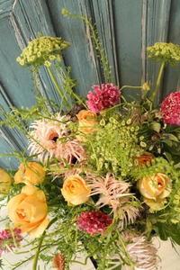 奥様のお誕生日に花束を - 北赤羽花屋ソレイユの日々の花