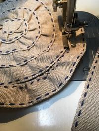 テープでつくる - 帽子工房 布布