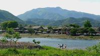 桂川と愛宕山 - フィールド