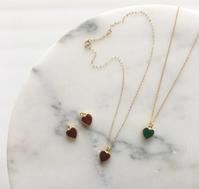 """Heart charm Necklace - Fmizushina Accessories """"everyday fun with accessories"""""""