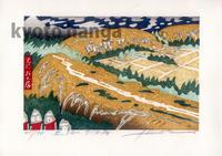 「京都十景」第6集(2015)ネット発売開始 - ニコラの版画のち占い時々デザイン