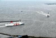 新「さんふらわあさつま」大阪南港撮影記その3 - 船が好きなんです.com