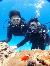 5月26日徐々に梅雨が近づく前に・・・ - 沖縄・恩納村のダイビング・青の洞窟体験ダイビング・スノーケルご紹介