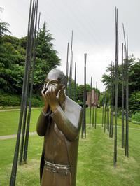 【クレマチスの丘】ヴァンジ彫刻庭園美術館を散策する - お散歩アルバム・・冬本番
