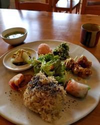 玄米菜食ごはんや ハレノヒ * 日替わりランチプレート再び♪ - ぴきょログ~軽井沢でぐーたら生活~