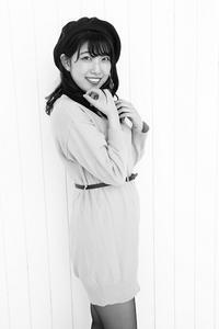 逢坂美由紀ちゃん5 - モノクロポートレート写真館