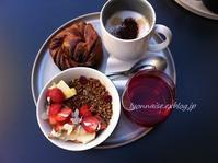 キッチンカフェで朝食を - リヨンの散歩