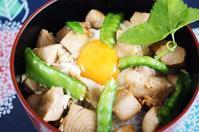 ■簡単!!5分【サッと煮マグロの卵綴じ丼】 - 「料理と趣味の部屋」