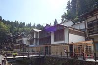 銀山温泉旅館 藤屋 - レトロな建物を訪ねて