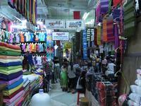 マンダレーの路上市場 - イ課長ブログ
