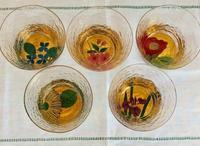 蒔絵工房 五兵衛の花の絵のグラス - 秋田 蕗だより