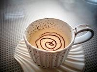 熱寒バニラコーヒーオレンジチョコソースがけ★ぐ~るぐる - 月夜飛行船