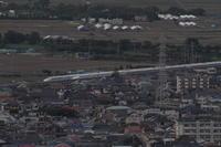 高過ぎるお立ち台② - 新幹線の写真