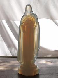 オパールガラス リジューの聖テレーズ像   / F257 - Glicinia 古道具店