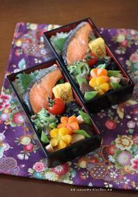 月曜シャケ弁当 ✿ サラサラチキンカレー(๑¯﹃¯๑)♪ - **  mana's Kitchen **