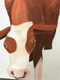 今日の絵「牛」 - vogelhaus note