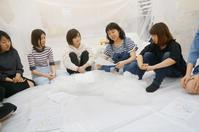 大成ゼミ②白い空間を作って会議 - アートパークプロジェクト
