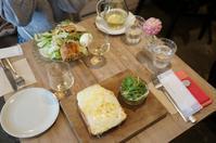 ブランチはトーストとワインと「カタネベーカリー」、そしてしっぽり和食の夜 - 晴れた朝には 改
