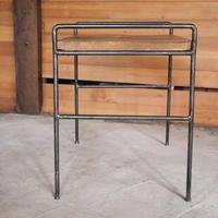 アイアン什器サイドテーブルNo104 - 手作り薪ストーブ kintoku直火工房。