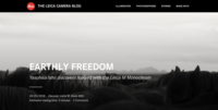EARTHLY FREEDOM on LEICA CAMERA BLOG - MaterialistiC*