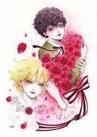 """〈ファンイラスト〉 祝・「ポーの一族」新連載""""ユニコーン"""" - LoopDays     Sachiko's Illustration blog"""