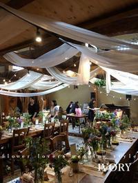 『〜週末の婚礼から①〜♬』 -  Flower and cafe 花空間 ivory (アイボリー)
