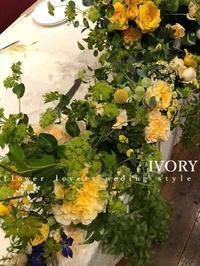 『〜週末の婚礼から②〜♬』 -  Flower and cafe 花空間 ivory (アイボリー)