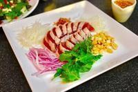 カツオのたたき、中華風&ピータン豆腐 - キムチ屋修行の道