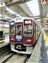 藤田八束の鉄道写真@お洒落な阪急電車に乗って文化都市を観光、関西は素晴らしい観光地・・・阪急電車に乗って京都・大阪・奈良そして神戸の観光地をお楽しみください - 藤田八束の日記