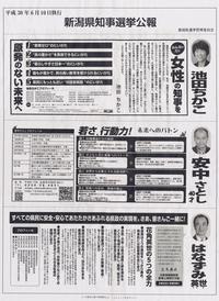 20180529 【県知事選挙】選挙公報 - 杉本敏宏のつれづれなるままに