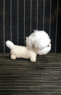 羊の毛刈り - 羊毛フェルト男(羊毛フェルトマン)