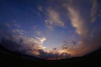 天草空港の夕暮れ。 - 青い海と空を追いかけて。