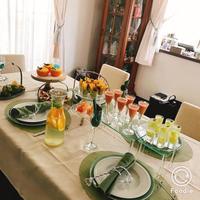 新緑のフィンガーフードレッスンNo.3 開催しました。 - Cynthia Diary   Quiche &Finger Food