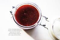 菜園の苺のペースト。 - 暮らしごと