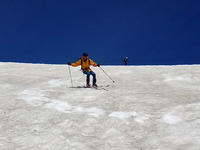滑り納め 乗鞍岳テレマーク - Team Kozaemon
