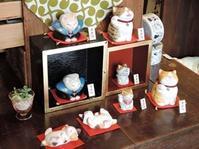再入荷~まる工房さんの陶猫~ - 湘南藤沢 猫ものの店と小さなギャラリー  山猫屋