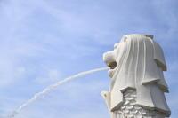2018.05 シンガポール マーライオンパークのマーライオン - ゆらりっぷ -yurari trip-