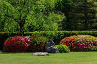 ツツジと春の花咲く城南宮 - 花景色-K.W.C. PhotoBlog