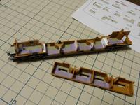 [鉄道模型]「E26系 カシオペア」をメイクアップする(8)「スロネE27-1」 - 新・日々の雑感