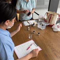 午後は久しぶりの千葉みなとでのボランティア - 千葉の香りの教室&香りの図書室 マロウズハウス