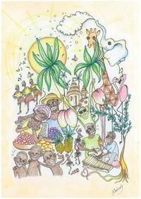 """ウガンダ支援チャリティーベント""""Sanyu""""に出演します - ジャンベ教室(ジェンベ教室)ぽんぽこブログ"""