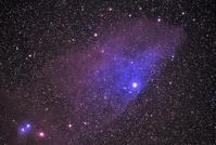 青い馬星雲(IC4592 - 安倍奥の星空