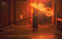 A giant torch 「お松明」東大寺二月堂修二会 - 奈良と  大和写真家™「影向」 Nara and Japanism by高畑写真事務所