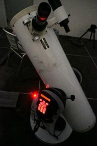 不調な20cm自動導入ドブソニアンをいじってみる - 亜熱帯天文台ブログ