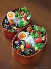 麻婆茄子とミニ春巻き ✿ 冷やし中華(๑¯﹃¯๑)♪ - **  mana's Kitchen **