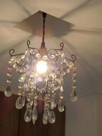SELFISH クリスタルガラスのプティシャンデリア - 愚衷百折記